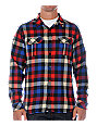 Insight Pervert 2 Blue Woven Shirt