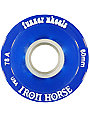 Iron Horse The Funner Blue 60mm Longboard Wheels