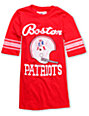 Junk Food NFL Boston Patriots Red Football T-Shirt
