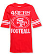 Junk Food NFL San Francisco 49ERS Red Football T-Shirt