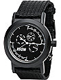 KR3W Black Navigator Analog Chronograph Watch