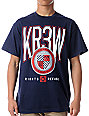 KR3W Honors Navy Blue T-Shirt