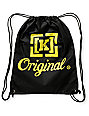 KR3W Original Black Drawstring Bag