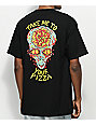 Killer Acid Take Me To Your Pizza Black T-Shirt