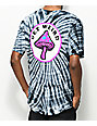 Know Bad Daze Get Weird Black Tie Dye T-Shirt
