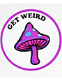 Know Bad Daze Get Weird Sticker