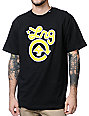 LRG CC One Black & Yellow T-Shirt
