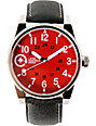 LRG Field And Research Red Analog Watch