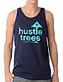 LRG Hustle Trees Navy Blue Tank Top