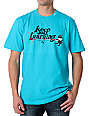 LRG Keep Earning Turquoise T-Shirt