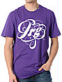 LRG Script Ross Purple T-Shirt