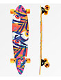 "Landyachtz Chief Eyes 36"" Bamboo Pintail longboard completo"