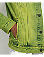 Levi's The Trucker Neon Green Denim Jacket