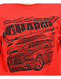 Mad Engine Charger camiseta corta de manga larga roja