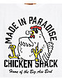 Made In Paradise Chicken Shack White T-Shirt