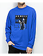 Maka Lassi Eclipse Last Blue Long Sleeve T-Shirt