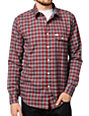 Matix Lomax Red Plaid Button Up Shirt