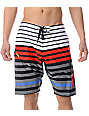 Matix Runway White 20.5 Performance Fit Board Shorts