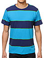 Matix Stinger Navy Stripe T-Shirt