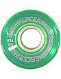 Mercer 60mm Clear Green 83a Cruiser Wheels