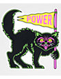 N°Hours Power Black Cat Sticker