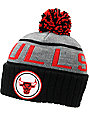 NBA Mitchell and Ness Chicago Bulls Pom Beanie
