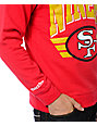 NFL Mitchell and Ness 49ers Stadium Crew Neck Sweatshirt