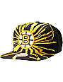 NHL Mitchell and Ness Bruins Earthquake Snapback Hat