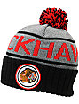 NHL Mitchell and Ness Chicago Blackhawks Pom Beanie