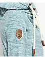 Naketano Glitzermuschi Blue Tech Fleece