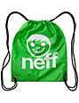 Neff Daily Green Drawstring Bag