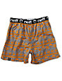 Neff Fairisle Blue & Orange Boxers
