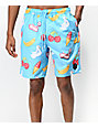 Neff Hot Tub Party Ice Board Shorts