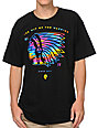 Neff Indibow Tribal Print Black T-Shirt
