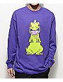 Neff Reptar Rugrats Purple Long Sleeve T-Shirt