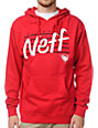Neff Vicer Red Pullover Hoodie