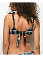 Nightwalker The Stevie Knot Tie Dye Bikini Top