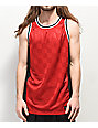 Ninth Hall Free Throw Red & Black Basketball Jersey