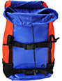 Nixon Landlock Royal Blue & Red Skate Backpack
