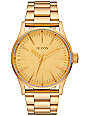 Nixon Sentry 38 SS All Gold Analog Watch
