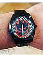 Nixon x Spitfire Time Teller Black Fireball Analog Watch
