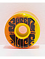 OJ Super Juice 60mm 78a Orange & Yellow Cruiser Skateboard Wheels