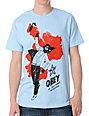 Obey Any Means Light Blue T-Shirt