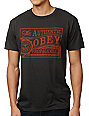 Obey Authentic Antique Charcoal T-Shirt
