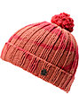 Obey Cold Wind Red Pom Beanie