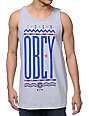 Obey Colours Heather Grey Tank Top