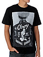 Obey Date With Death Black T-Shirt