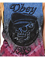 Obey Devious Scumbags Tie Dye Muscle Tank Top