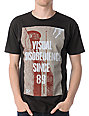 Obey Disobedience Thrift Brown T-Shirt