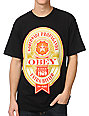 Obey Extra Bitter Black T-Shirt